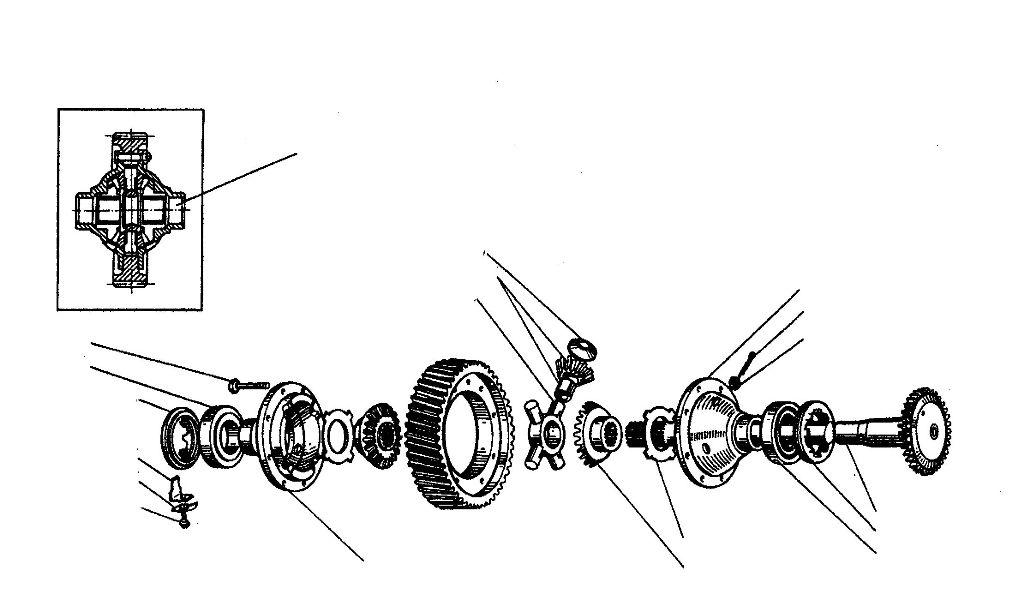 Задний редуктор мотоцикла урал схема