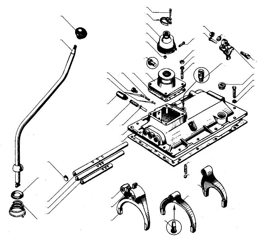 Схема переключений передач на бмп 2